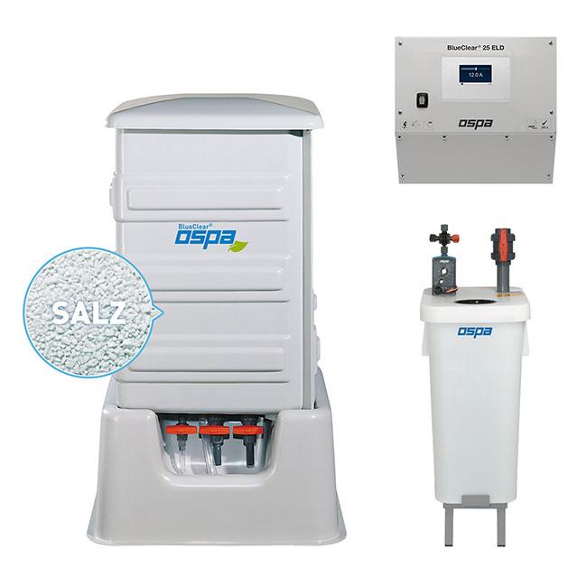 Ospa Desinfektionsanlage Ospa-BlueClear® 25 ELD