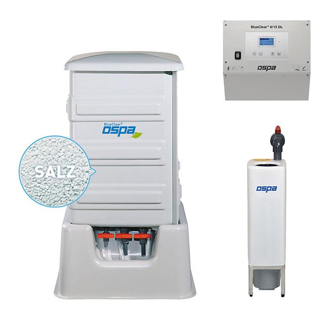 Ospa Desinfektionsanlage Ospa-BlueClear® 8 DL, 15 DL